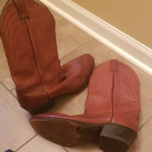 Abilene brown cowboy boots size 11EE